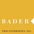 Bader Philanthorpies Inc. logo